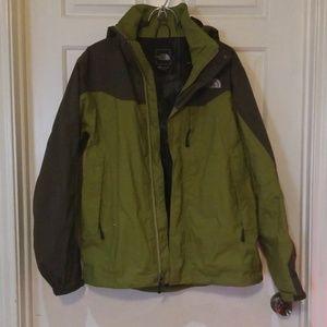 North Face Rain Jacket with Hood